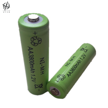 DING LI SHI JIA New 10pcs AA 3800mAh 1.2 V Rechargeable Battery AA NI-MH 1.2V batteries Rechargeable 2A Battery(China)