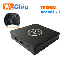 Buy High T6 TV Box 7.1 Android TV Box 2GB RAM 16GB ROM Amlogic S905X Quad core Cortex A53 4K 2.4GHz WiFi Smart Tv Box for $41.62 in AliExpress store