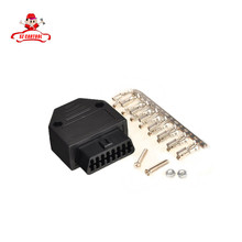Car Diagnostic Tool J1962F OBD2 16 Pin Female Connector OBDII 16pin Connector Adaptor with Screws diagnostic-tool