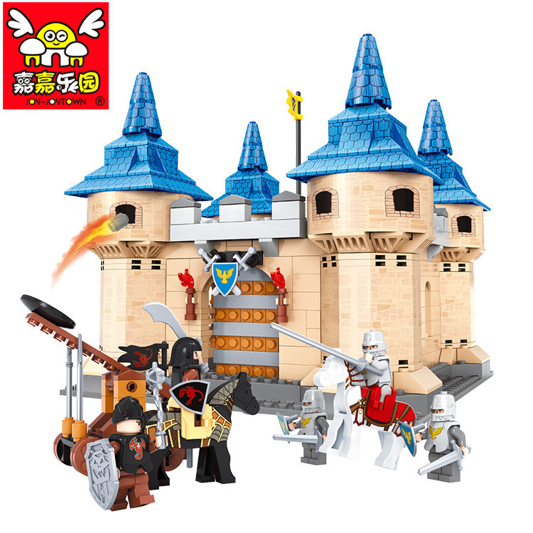 Knight Series Castle clash 576pcs educational toys 2015 building blocks set Compatible with Lego childrens gift 003052<br>