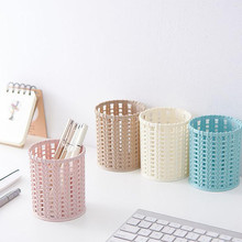 Newest 펜 Holder 플라스틱 Compact Basket 대 한 주방 욕실 Office 메트 vintage Desk 주최자 펜 Holder 펜 titulaire 의 Dropshipping(China)