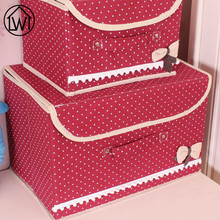 1Set Non-woven Cloth Fabric Adult Baby Clothes Quilt Pillow Blanket Sweater Storage Home Folding Storage Cabinets Bags Boxs