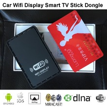 Slimy TV Stick Car Wifi Display Smart Dongle Wireless Screen Mirroring Airplay DLNA Miracast Dongle for Iphone Windows Android(China)