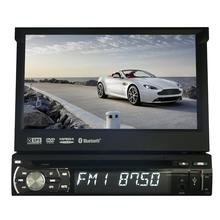 Car Electronic 1din Car DVD Player GPS Navigation 7inch 1din Car Radio GPS Navigation In Dash Stereo Video USB SD steering wheel