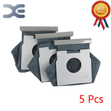 5Pcs High Quality Compatible With For Panasonic Vacuum Cleaner Accessories Garbage Cleaner Bag C-13 / MC-CA393 / CA591