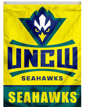 3 Color UNCW Seahawks New Logo Team College American Outdoor Indoor Football College Flag 3X5 Custom Any Flag(China)