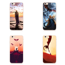 Game Of Thrones Daenerys Dragon Jon Snow tyrion lannister Hard plastic Phone Case Fundas For iPhone 7 7plus 6 6S 6Plus 5 5S 5 SE