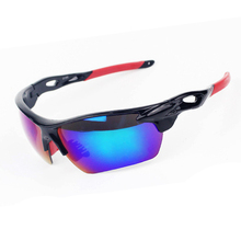 Sale 2 Lenses ! Hot Men Women Polarized Outdoor Cycling Eyewear Sport UV400 Bicycle Sunglasses Bike Tactical Military Goggles(China)
