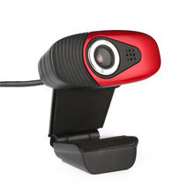 12M Pixels USB Webcamera Clip-on Rotating HD Webcam Camera with Microphone MIC for Computer PC Laptop for Android TV