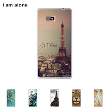 For HTC Desire 600 4.5 inch Cellphone Cover Mobile Phone Protective Skin Color Paint Bag Shipping Free