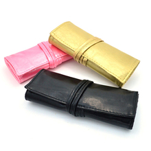 Pro Roll Up Nail Brush Bag Waterproof Pen Pencil Case Holder Makeup Brush Bag Pouch For Brushes  Pouch Srorage Bag Toiletry Kit