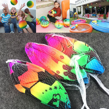 PVC Ball Decor Rainbow Volleyball Outdoor Sports Toy Beach Ball Children Gift(China)