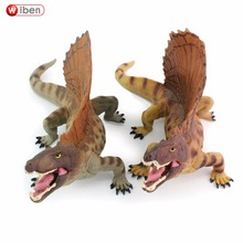 Wiben Jurassic Dimetrodon Dinosaur Toys  Action Figure Animal Model Collection High Simulation Birthday Gift For Kids