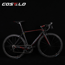 Costelo GT.ZERO bicycle Road Frame carbon Bicylce Road Bike Road Frame original groups wheels saddle bar tire(China)