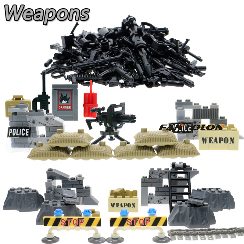 DIY Military Series Swat Police Gun Weapons Pack Army Weapon Brick For City Police Building Block Best Children Gift Toys<br><br>Aliexpress