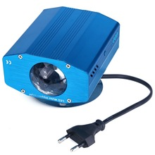 Blue Water Wave Effect Ripple Projector 3W Led Stage Light for Party Disco Light DJ Show Home Entertainment KTV Background