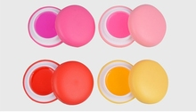 New 4 Fruit Flavor Macaron Lip Balm Natural Plant Sphere Lip Smacker Make Up Lipstick Moisturizing Lip Balm Makeup(China)