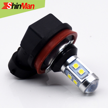 ShinMan Best New 3030chip 10W 10led H11 PGJ19 LED Bulbs For Accessories Car LED Fog Lights Fog Driving Light Lamp Bulb