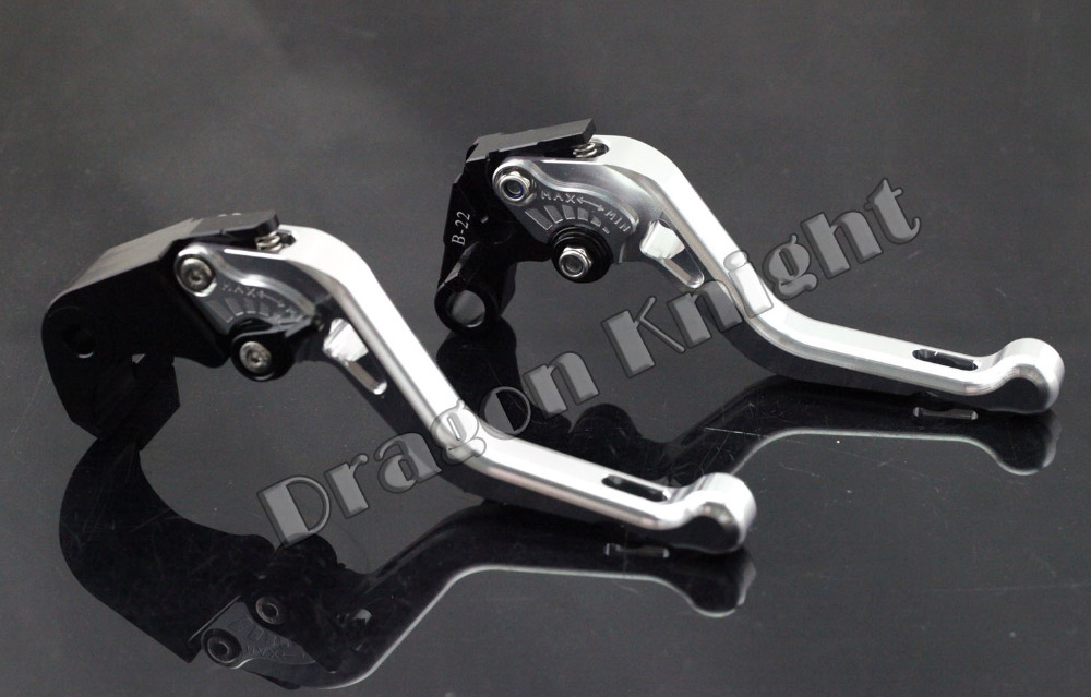 Motocycle Accessories For BMW S1000R 2014-2015 Short Brake Clutch Levers Silver<br>