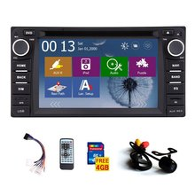 FREE rear camera+ 2 din GPS Car Stereo Radio for Toyota Corolla Ex 2008 2009 2010 2011 2012 2013 DVD Player Bluetooth ipod FM/AM