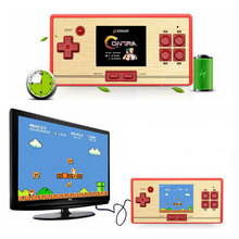 Classic Retro Handheld Game Player for FC pocket with AV Cable TV-out Children's Video Game Console 600 No Repeat Games 3 Colors