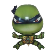 TSZWJ G-072  Teenage Mutant Ninja Turtles cartoon balloon wholesale aluminum balloons birthday party toy wholesale