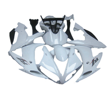 white Injection molded for YAMAHA R1 04 05 06 YZF1000 2005 2004 2006 YZF R1 fairing kit xl08(China)