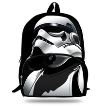 16-Inch Popular School Bag Cartoon Backpacks Child Star Wars Backpack For Kids Boys Star Wars Bag For Girls Teenagers Bags