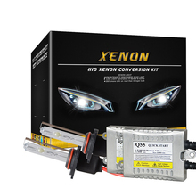 Fast Bright Ballast 55W HID Xenon Conversion Kit 0.2s Quick Start H1 H3 H4 H7 H11 9005 9006 HB4 4300k 6000k 8000k 12000k(China)