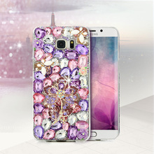 Bling Crystal Diamond Phone Case Rhinestone Cover For iPhone 5 5S SE 6 6S Plus For Samsung Galaxy S7 S6 Edge Plus S5 S4 A3 A3100