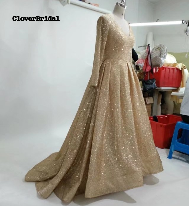 gold wedding dress_conew1