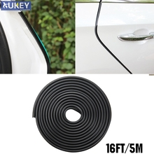 5M Car Door Scratch Strip Protector Edge Guard Rubber Seal Insert Sticker Styling For Vw Ford Renault Lada Opel Peugeot Fiat