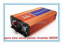 800W Pure sine wave inverter 110/220V 12/24VDC, CE & ROHS certificate, PV Solar Inverter, Power inverter, Car Inverter Converter