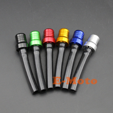 6Pcs Motorcycle ATV Dirt Pit Bike Off Road Gas Fuel Cap Petrol Tank Valve Vent Breather Hose Tube Free Shipping