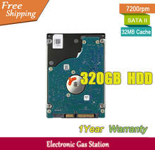 "Original Brand Hard Drive 320GB HDD 7200rpm 32MB Cache 7mm SATA II 2.5"" Laptop Hard Drive(China)"