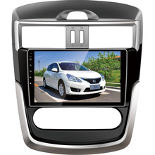 BEIDOUYH Android 9 inch Car DVD Player for NISSAN Tiida(HC) 2016 can-bus/WiFi/APP Download/Mirror link/3G Steering Wheel Control