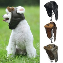 Hat Puppy Dog Small Winter Perro for Dog-Pilot Cashmere Comfortable Cool Para Difraz