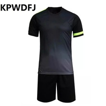 2017 New boys mens football jerseys soccer jerseys sports kits Custom number jerseys sports wear football uniforms