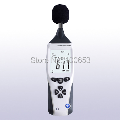 LA-958 Professional Sound Level Meter with Data logger Noise dB Decibel Tester with USB Interface &amp; Auto LCD Backlight<br><br>Aliexpress
