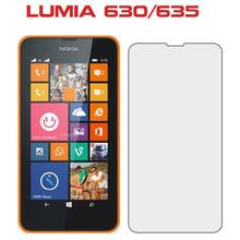 Free Shipping For Lumia 630 635 HD Power Support Film Set Anti-Glare Screen  Protector for Nokia lumia 630 635 Screen Protector