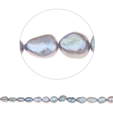 "2017 New 7-8mm Freeform Purple Freshwater Pearl Spacer Natural Beads For DIY Necklace Jewelry Making 14.5"" Drop Shipping"