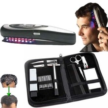 hair comb brush grow laser M Kit Power Grow Laser Cure Loss Therapy Laser Hair Comb tools for hair care(China)