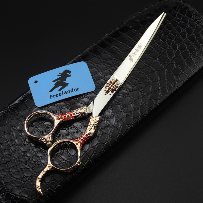 Freelander 7 inch 3 Styles Pet Shears for Dogs Personality Hair Cutting Scissors Grooming Tool Pets Hair Salon Equipment<br>