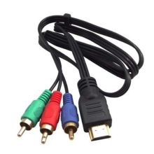 HDMI to 3 RCA Converter Cable HDMI to RCA Audio Video Cable Component AV Cable for TV HDTV LCD TV DVD Projectors Computers