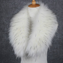 Christmas Gifts Winter Women's Faux Fur Cape Scarf Winter Warm Fur Collar nice Accessories Shawl Winter Gifts Faux Fox Fur new(China)