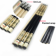 Free shipping 13mm billiard cues Uni-Loc Joint Pool cue sticks Nine-ball Arm cues Maple wood cue sticks billiard accessories(China)