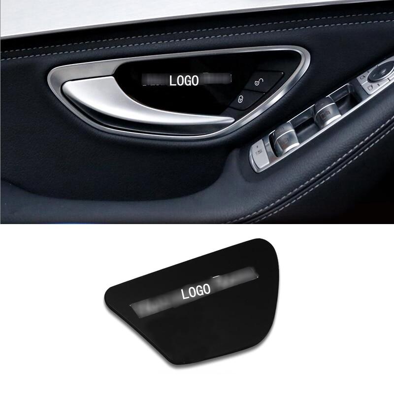 4pcs Interior Car Door Handle Bowl Cover Trim for Land Rover Freelander 2 11-15
