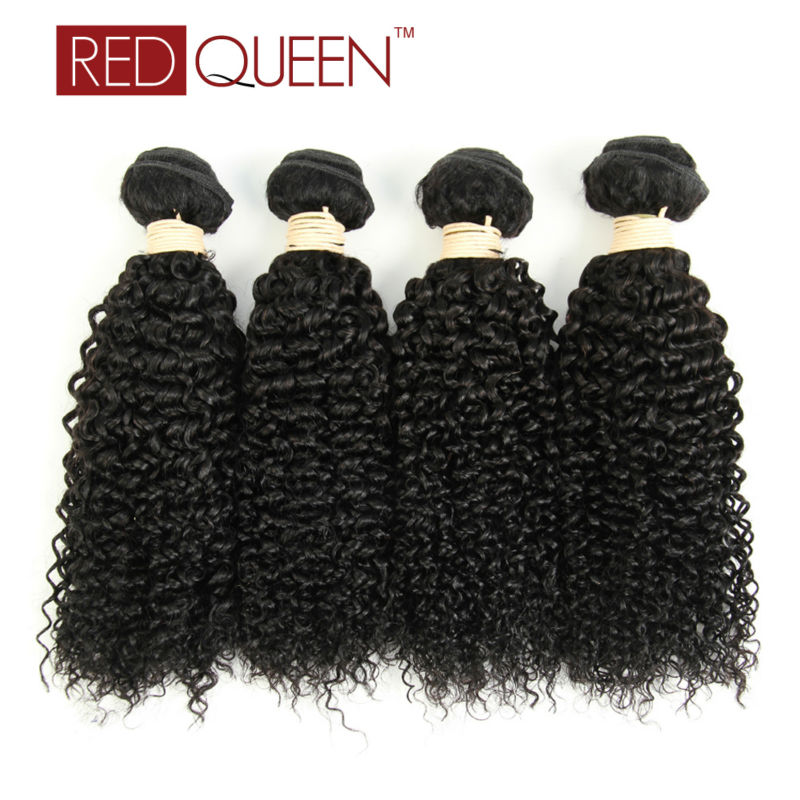 8A Brazilian Curly Hair 4 Bundles 12-24 Red  Queen Brazilian Weave Kinky Human Hair Weave Brazilian Kinky Curly Virgin Hair<br><br>Aliexpress
