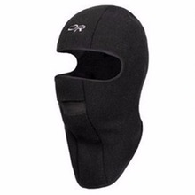 New Motorcycle Thermal Fleece Hat Winter Ski Full Face Mask Neck Cap Cycling Windproof Dustproof Masks Black Color