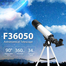F36050 360/50mm Outdoor Monocular Astronomical Telescopes Spotting Scope Refractive Astronomical Telescope with Portable Tripod(China)